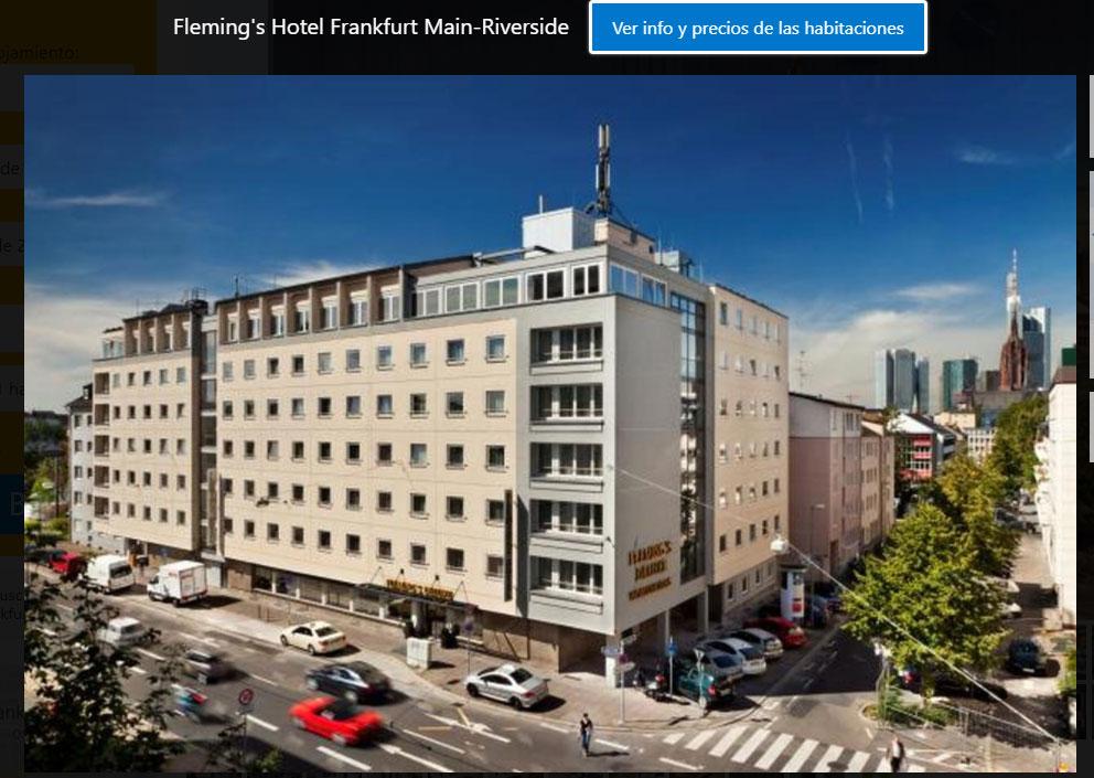 hotel Fleming frnakfurt para ironman